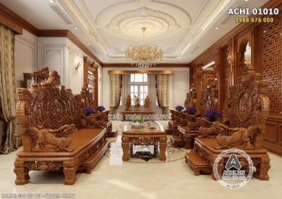 Hình ảnh: Thiết kế nội thất tân cổ điển - Phòng khách