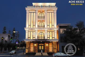 Thiết kế tòa nhà văn phòng thương mại đẳng cấp và thời thượng – ACHI 65322