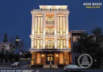 Hình ảnh: Thiết kế tòa nhà văn phòng Building Office thương mại - ACHI 65322