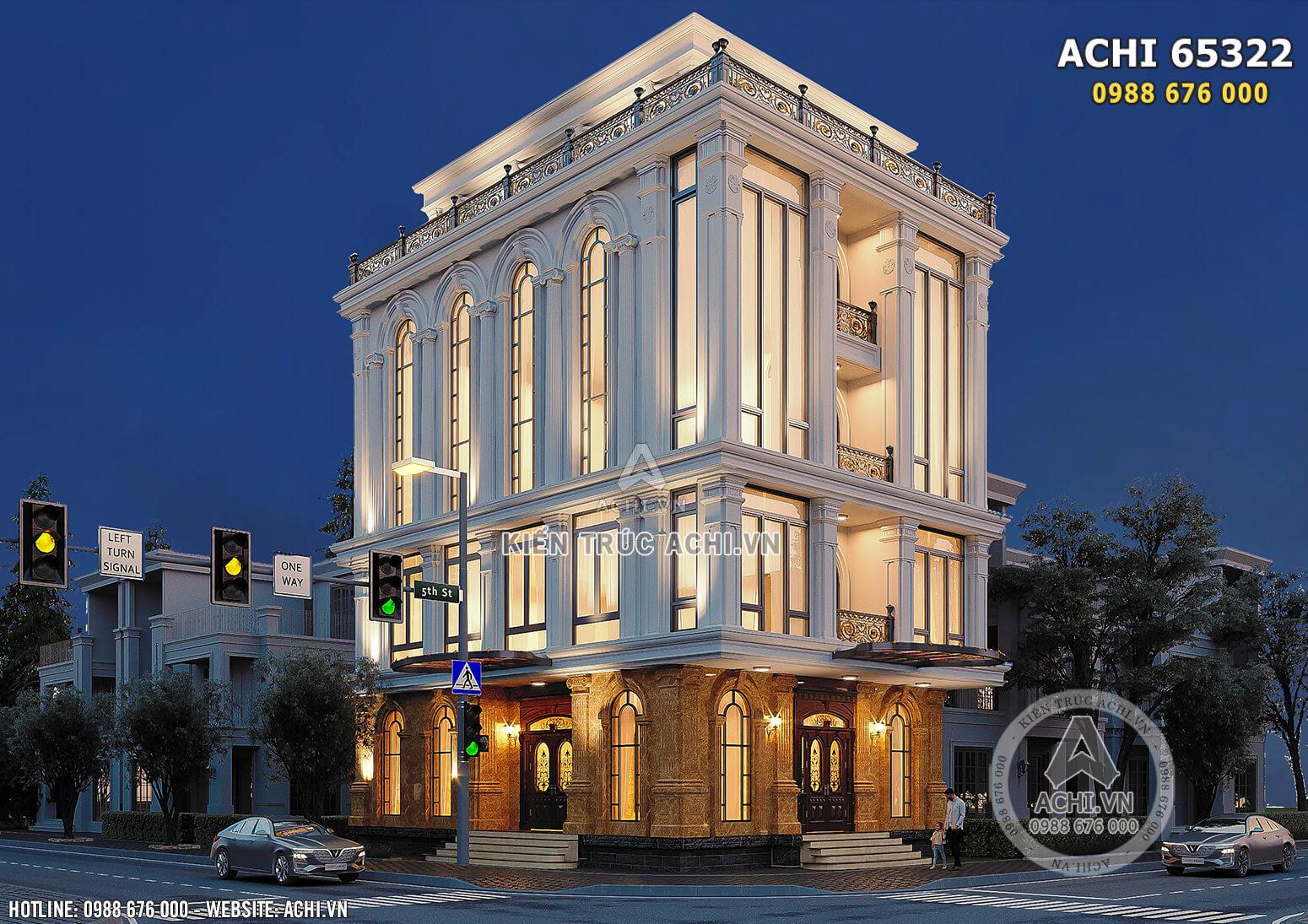 Hình ảnh: Không gian ngoại thất được làm nổi bật nhờ phong cách kiến trúc tân cổ điển