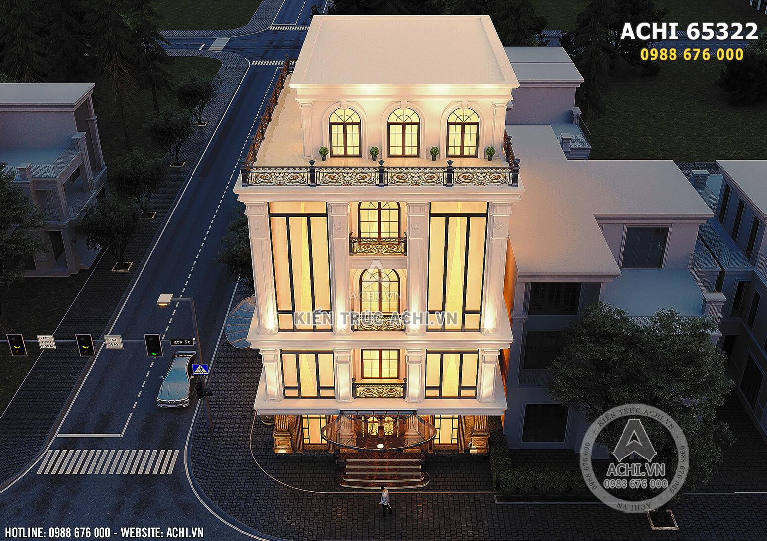 Hình ảnh: Tòa nhà văn phòng được sử dụng chất liệu kính để tạo nên sự thông thoáng