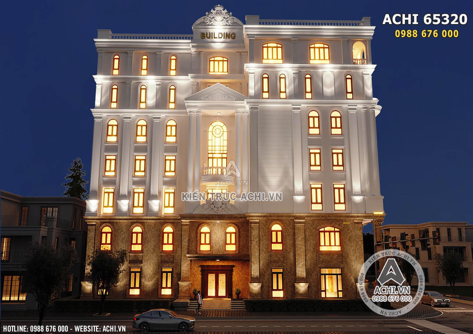 Hình ảnh: Tòa nhà văn phòng 7 tầng 2 mặt tiền đẹp - ACHI 65320