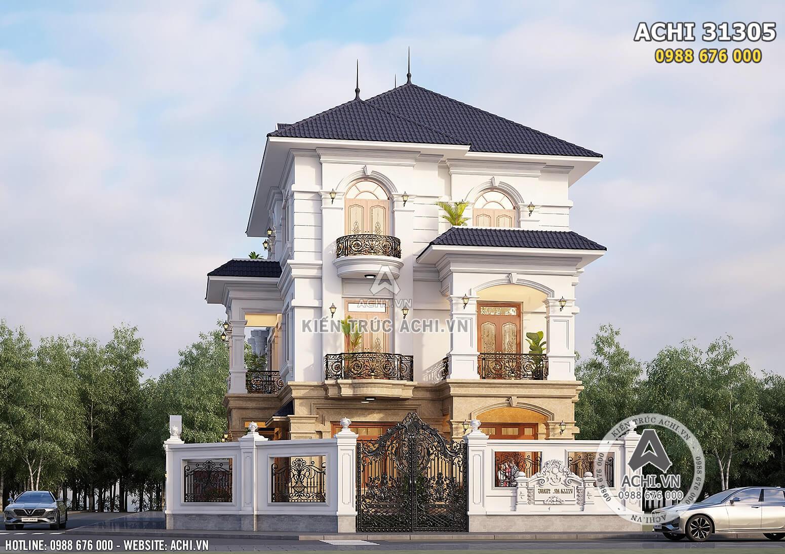 Hình ảnh: Kiến trúc tân cổ điển đẹp mắt