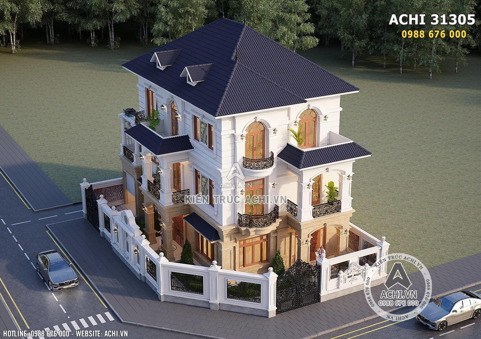 Hình ảnh: Hệ thống mái Thái giúp bố cục căn nhà trở nên ấn tượng hơn