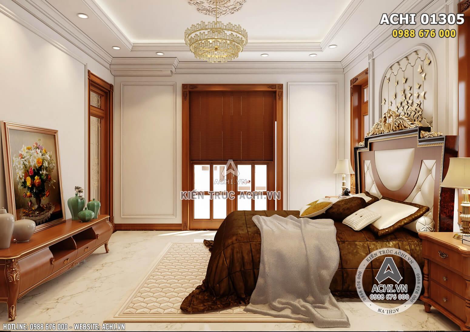 Nội thất phòng ngủ đơn giản mà sang trọng, tinh tế