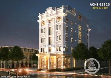 Thiết kế khách sạn mini 5 tầng đẹp tại Quảng Ninh – ACHI 65326