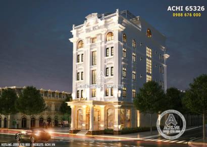 Hình ảnh: Giải pháp thiết kế khách sạn mini 5 tầng đẹp - ACHI 65326