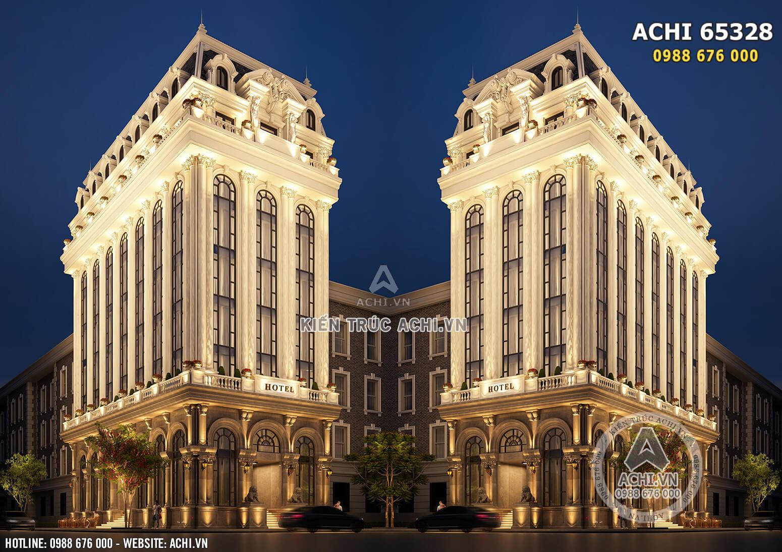 Hình ảnh: Không gian kiến trúc tân cổ tuyệt đẹp của tòa khách sạn 5 sao cao cấp