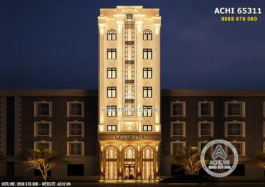 Thiết kế tòa nhà kinh doanh tân cổ điển – ACHI 65311