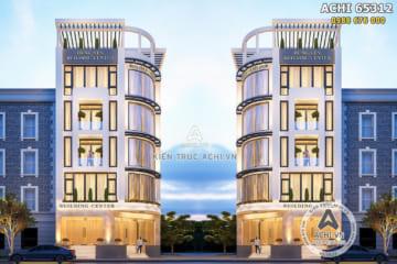 Thiết kế tòa nhà thương mại plaza sang trọng, nổi bật – ACHI 65312