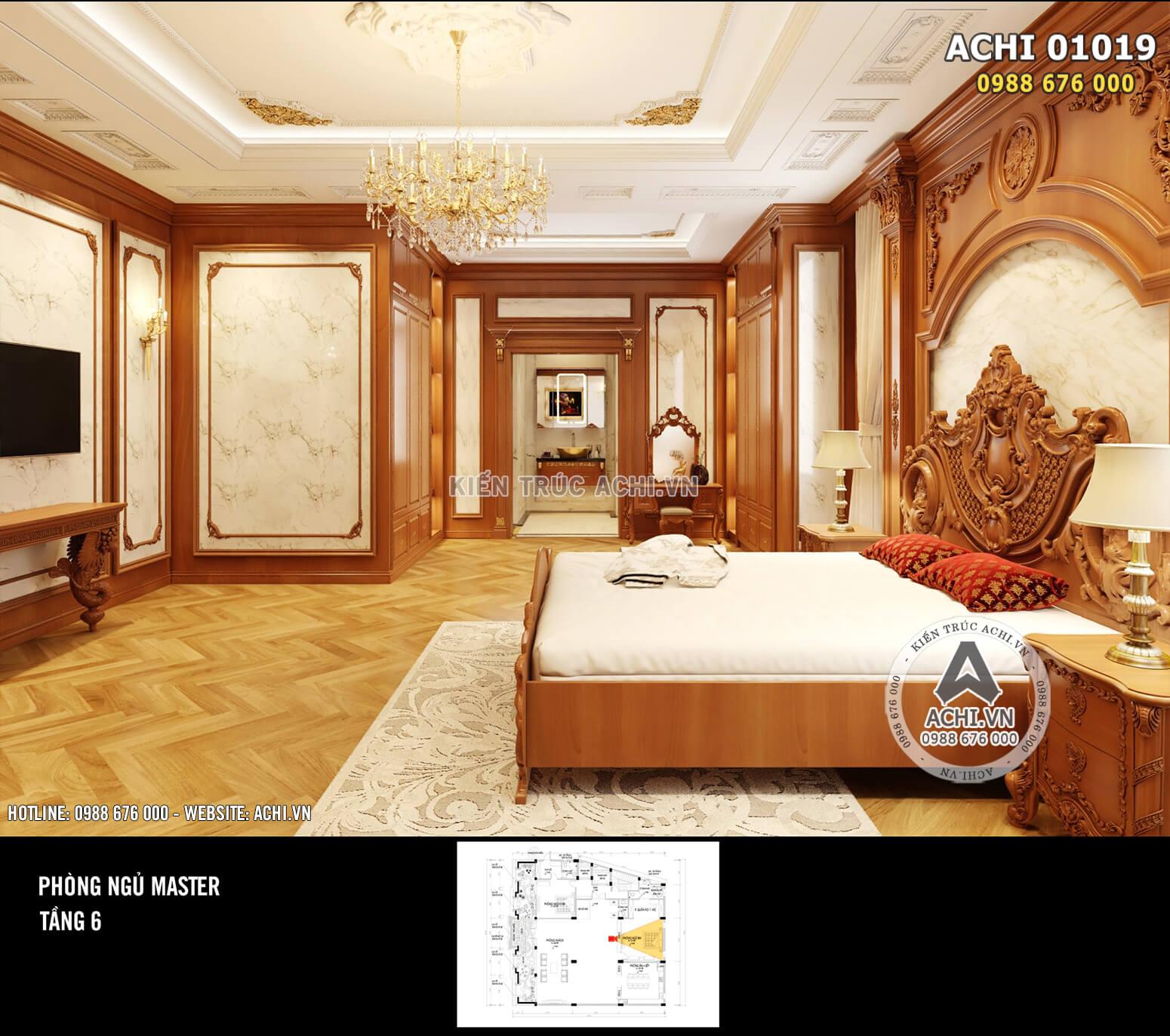 Hình ảnh: Nội thất bằng gỗ cao cấp được ưu ái – ACHI 01019
