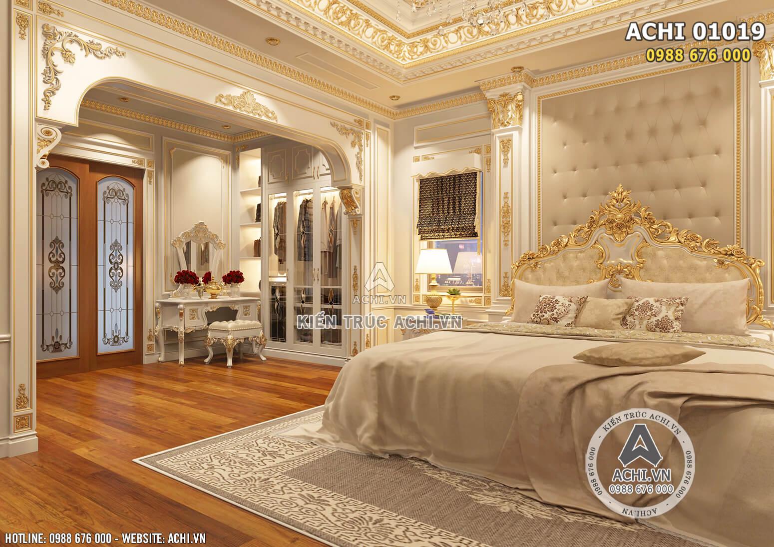 Hình ảnh: Các không gian tủ quần áo được thiết kế âm tường tạo sự gọn gàng