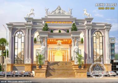Thiết kế trung tâm tiệc cưới hội nghị nhà hàng – ACHI 81105